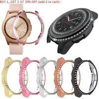 Shell PC Watch Case Diamond Frame For Samsung Galaxy Watch 46mm 42mm Gear S3