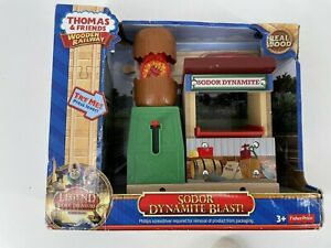 Thomas Wooden Railway Sodor Dynamite Blast New in Box