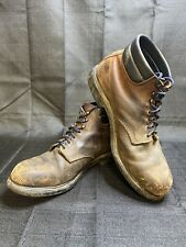 Size 15 Redwing Leather steel toed boots