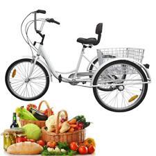 """6 velocità 24"""" 3 ruote adulti Biciclette Triciclo Escursione in bicicletta grati"""