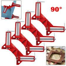 4 Woodworking Hand Kit Tools 4*90° Degree Right Angle Clip Clamps Corner Holder