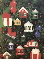 Leisure Arts  Christmas Projects For Plastic Canvas Patterns Train, Santa, Deers