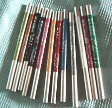 Boxed Set of 12 Waterproof Eyeliner & Lip Liner Color Pencils NEW