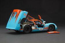 Exoto 1:18 | RACE WEATHERED | Gulf Porsche 910 | Vintage Racing | # MTB00064GFLP