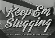 KEEP 'EM SLUGGING (1943) DVD THE DEAD END KIDS, EVELYN ANKERS
