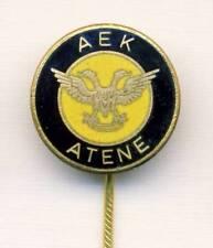 old AEK Athens F.C. pin BADGE Football Soccer GREECE