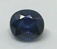 $1125 Natural 1.12ct Blue Sapphire UNHEATED Oval New VVS *Certified* USA