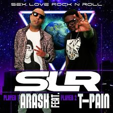 T-Pain Arash-SEX LOVE ROCK 'N ROLL (SLR) (2-Track) CD SINGLE NUOVO