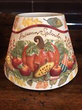 Yankee Candle Teresa Kogut Autumn Splendor/Fall Leaves Large Jar Candle Shade