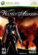 Velvet Assassin XBOX 360! WWII, SECRET AGENT, STEALTH, GUN, HERO, SPY, KILL