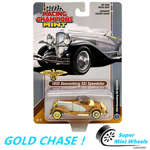 GOLD CHASE ! Racing Champions Mint - 1935 Duesenberg SSJ Speedster Silver 1:64
