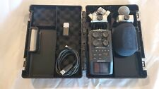 Zoom H6 6-track portable digital recorder with case and 2 mics