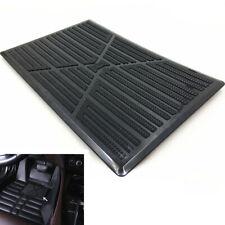 25x16cm DIY Black Car Floor Carpet Pad Heel Foot Mat Pedal PVC Pad Universal