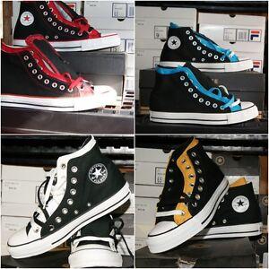 Converse Chuck Taylor All Star Upper High Sz 6 7 Black Shoes Men Women