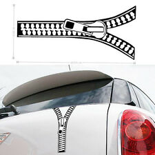 1PC Zipper Reflective Sticker Car SUV Auto Fender Rear Trunk Vinyl Graphic Decal