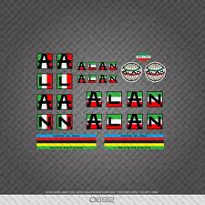 0692 Alan Bicicleta Pegatina - Calcomanía - Italian Flag Colours