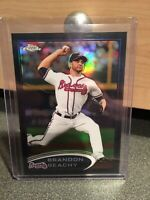 2012 TOPPS CHROME BRANDON BEACHY REFRACTOR CARD SP#/ Atlanta BRAVES MLB