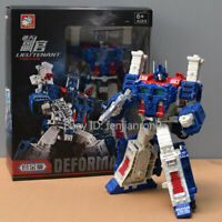 """Transformers BPF Ultra Magnus G1 Optimus Prime Action Figure 9"""" Toy In Stock 099"""