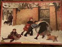 Waddingtons Deluxe 1000 Pcs Jigsaw Puzzle The Snow Ball Vintage