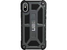 3c3ad0aa3fe Carcasa - Urban Armor Gear Monarch, Iphone X, funda cuero, Grafito