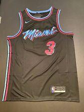 Dwyane Wade #3 Miami Heat Black Vice City Edition Men's Jersey