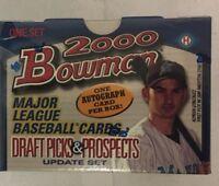 2000 Bowman Draft Picks and Prospects Update Factory Sealed Baseball Box Set
