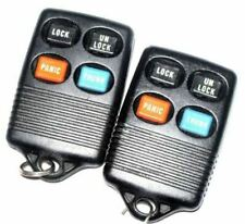 Pair of MERCURY keyless entry remote GQ43VT4T transmitter alarm clicker control