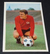 MITTROWSKI HANNOVER 96 FUSSBALL 1966 1967 FOOTBALL CARD BUNDESLIGA PANINI