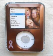 BELKIN Alum & Acrylic Case~3rd Gen Apple IPOD Nano~milk Choco  ~covers LCD&Wheel