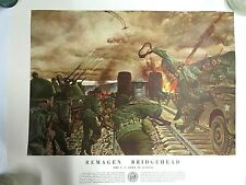 Vintage Military War Prints U.S. Army in Action - Lot of 7