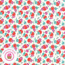 Moda BEACH ROAD 18132 18 Red Cherry Pink Floral JEN KINGWELL Quilt Fabric