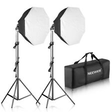 Neewer 700W Octagon Softbox Continuous Lighting Kit with Light Bulb Stand