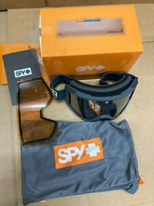 SPY RAIDER Goggles Ski Snowboard Snow Winter Colorblock Gray