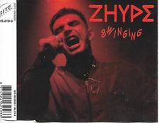ZHYPE - Swinging CDM 4TR Swingbeat 1992 (BITE Records) Holland
