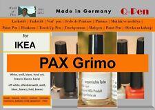Lackstift für IKEA PAX GRIMO weiß