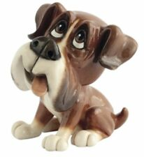 Little Paws BOO The BOXER Figurine Dog Ornament Gift Boxed 12cm