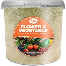 GroundMaster Flower & Vegetable Organic Plant Food Compound Fertiliser In Tubs