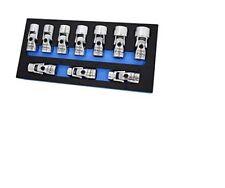 10PC 3/8IN Dr Flex Socket Set, 6 Point, Metric AST-74310