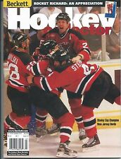 July 2000 Beckett Hockey Price Guide NHL - #117 Stanley Cup New Jersey Devils
