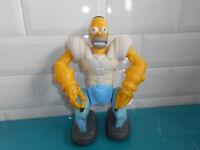 Homersapien Figurine à pile Homer robot Les the Simpsons simpson figure 20cm