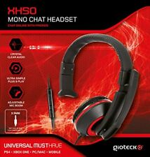 Auriculares Gaming Gioteck Xh-50 Wired mono Negro/rojo