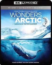 BLU-RAY IMAX: Wonders of the Arctic (BLU-RAY 3D 4K Ultra HD) NEW 3D 4k