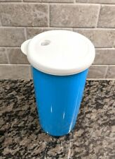 Tupperware Insulated Tumbler With Dripless  Seal Blue