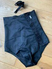 Macom Abdominal Compression Garment Black  - Size L- Side Fastening