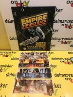 1980 Star Wars Empire Strikes Back Burger King  Set of 4 Stickers w Book New