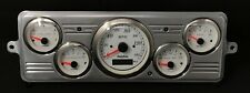 1939 Chevy Car 5 Gauge GPS Dash Panel Cluster Set 39 White