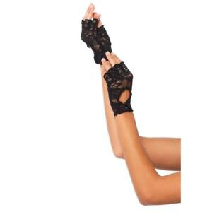 Leg Avenue Lace Keyhole Fingerless Gloves 2724