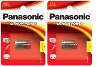 Panasonic - 2 Piles spéciales photos CR2 3V lithium