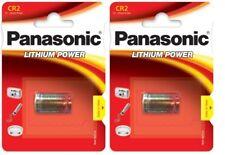 Warensendung Unter Tracking Panasonic - 2 Batterien Spezial Fotos CR2 3V Lithium
