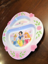 Disney Princess First Years Plastic Divided Plate